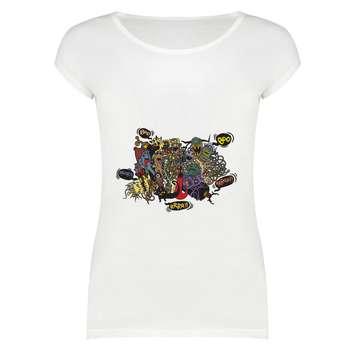 تی شرت زنانه مدل TS01-333
