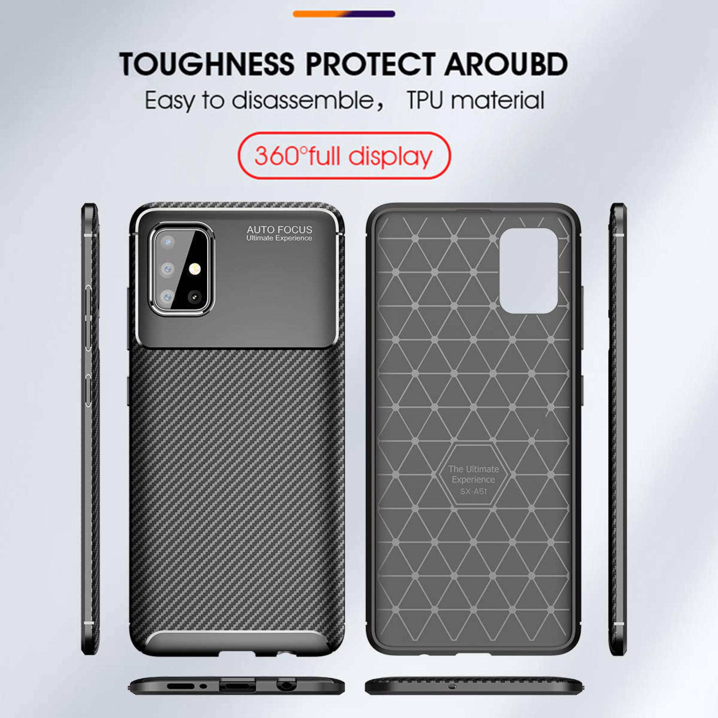 کاور لاین کینگ مدل A21 مناسب برای گوشی موبایل سامسونگ Galaxy A51 thumb 2 13