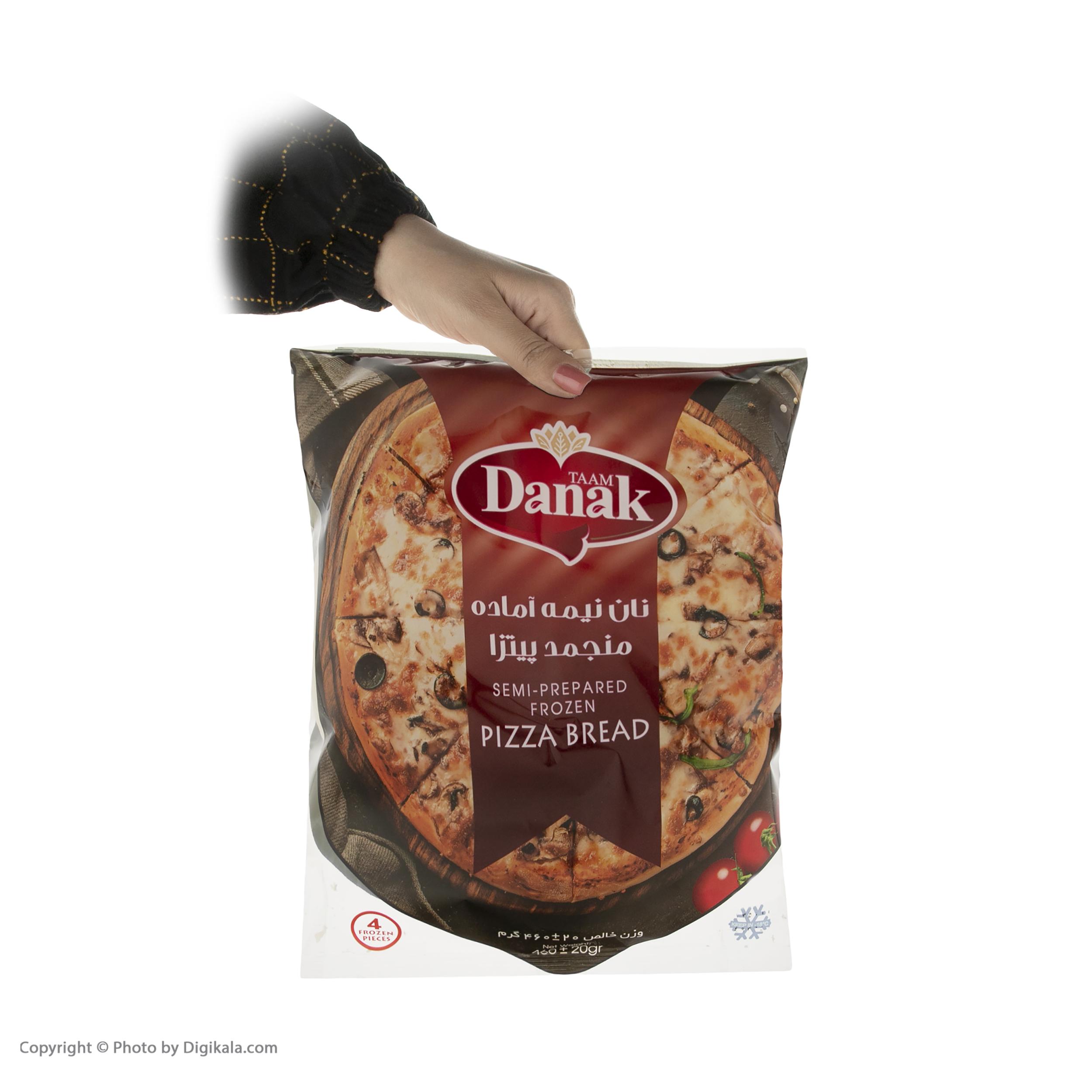 خمیر پیتزا داناک - 460 گرم main 1 2