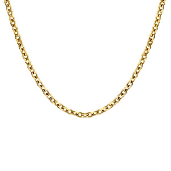 زنجیر طلا 18 عیار زنانه اقلیمه مدل ZT40