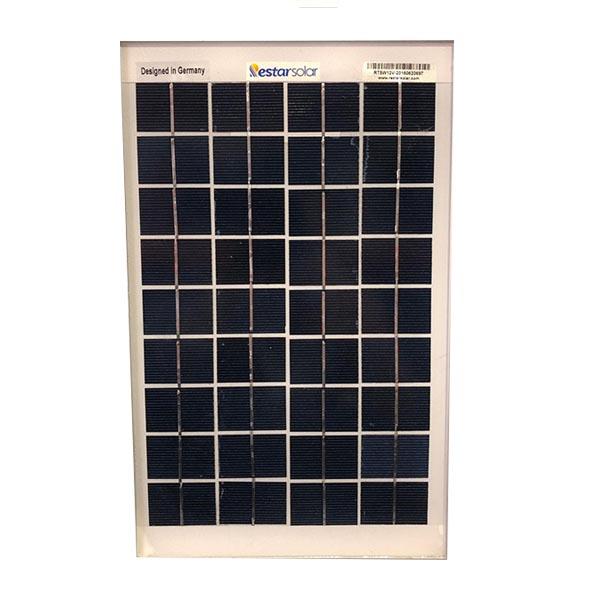 پنل خورشیدی رستارسولار مدل RT5P ظرفیت5وات