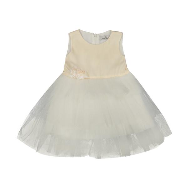 پیراهن نوزادی دخترانه فیورلا کد 1963