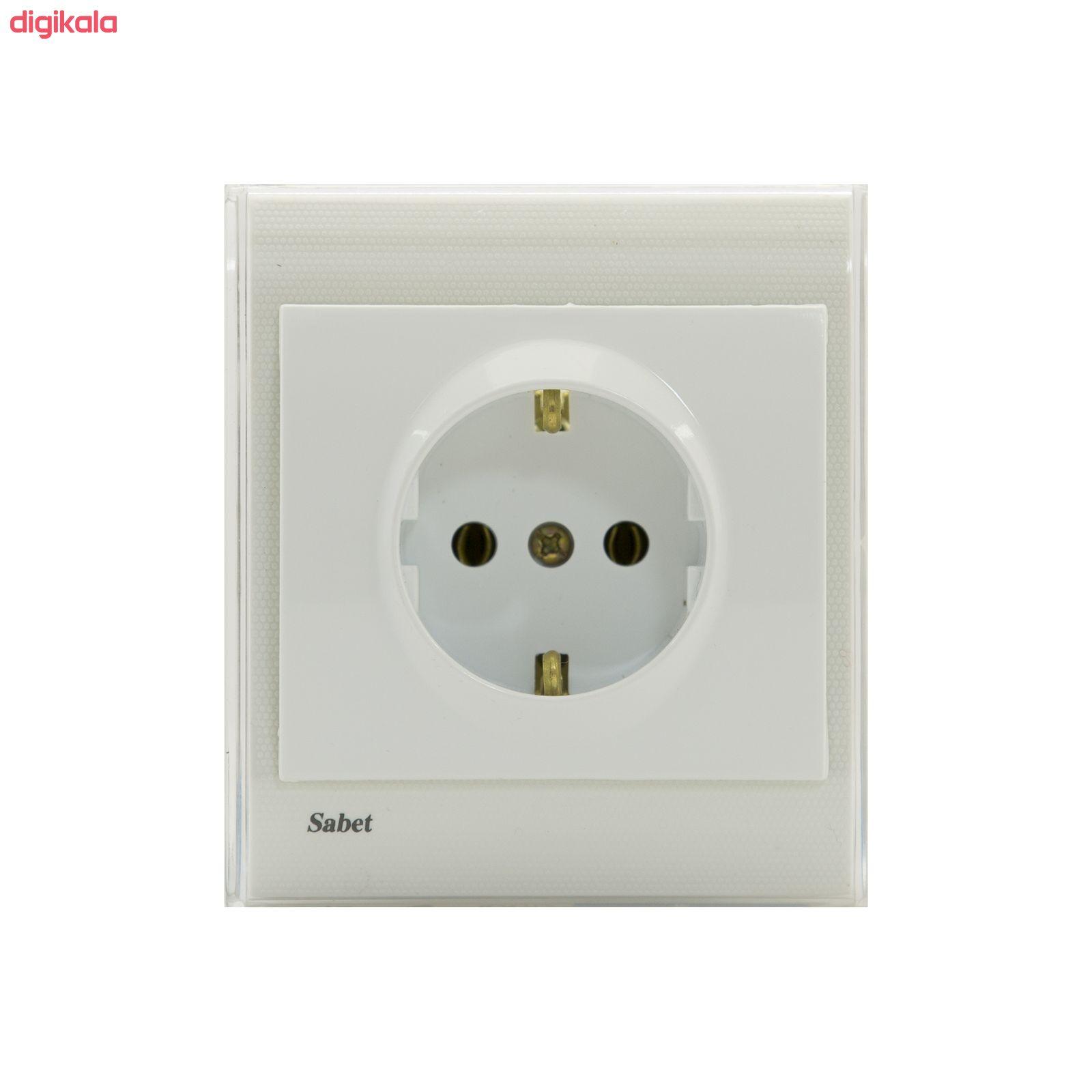 پریز برق ثابت الکتریک مدل پرشین E main 1 1