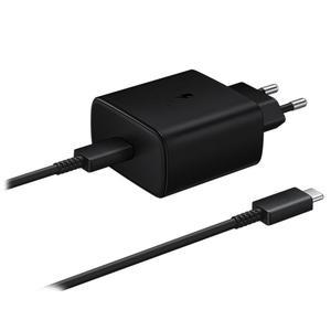 شارژر دیواری سامسونگ مدل EP-TA845 به همراه کابل تبدیل USB-C