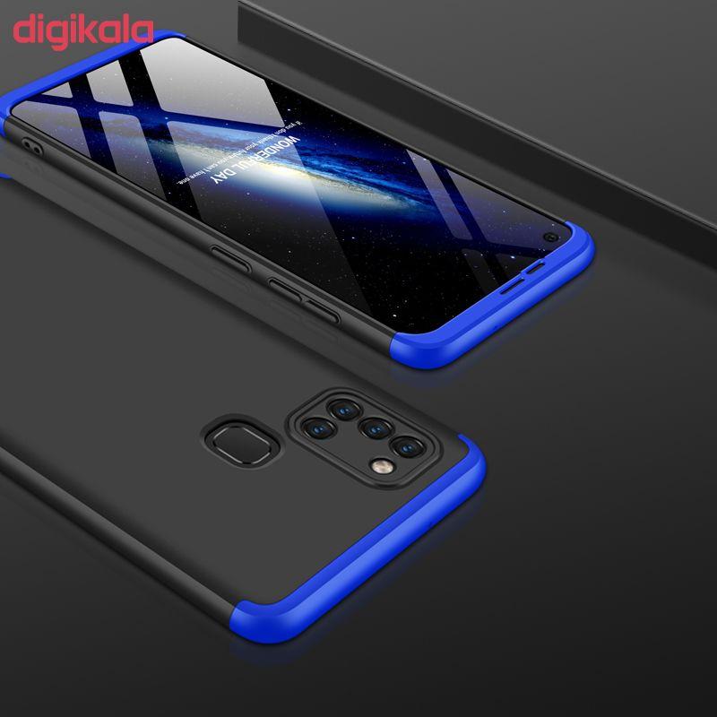 کاور 360 درجه جی کی کی مدل GK-A21S-21S مناسب برای گوشی موبایل سامسونگ GALAXY A21S main 1 3