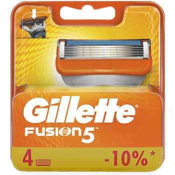 تیغ یدک ژیلت مدل 5 Fusion بسته 4 عددی