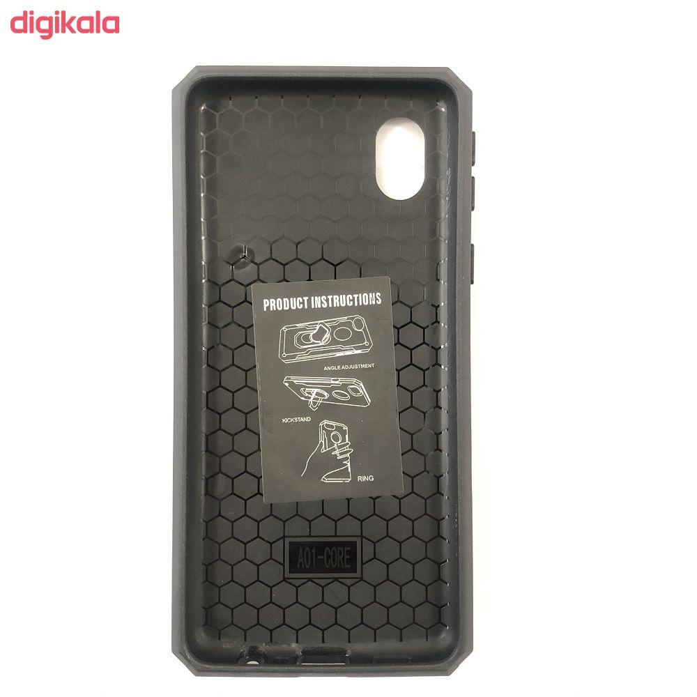 کاور مدل STND-01  مناسب برای گوشی موبایل سامسونگ Galaxy A01 Core main 1 2