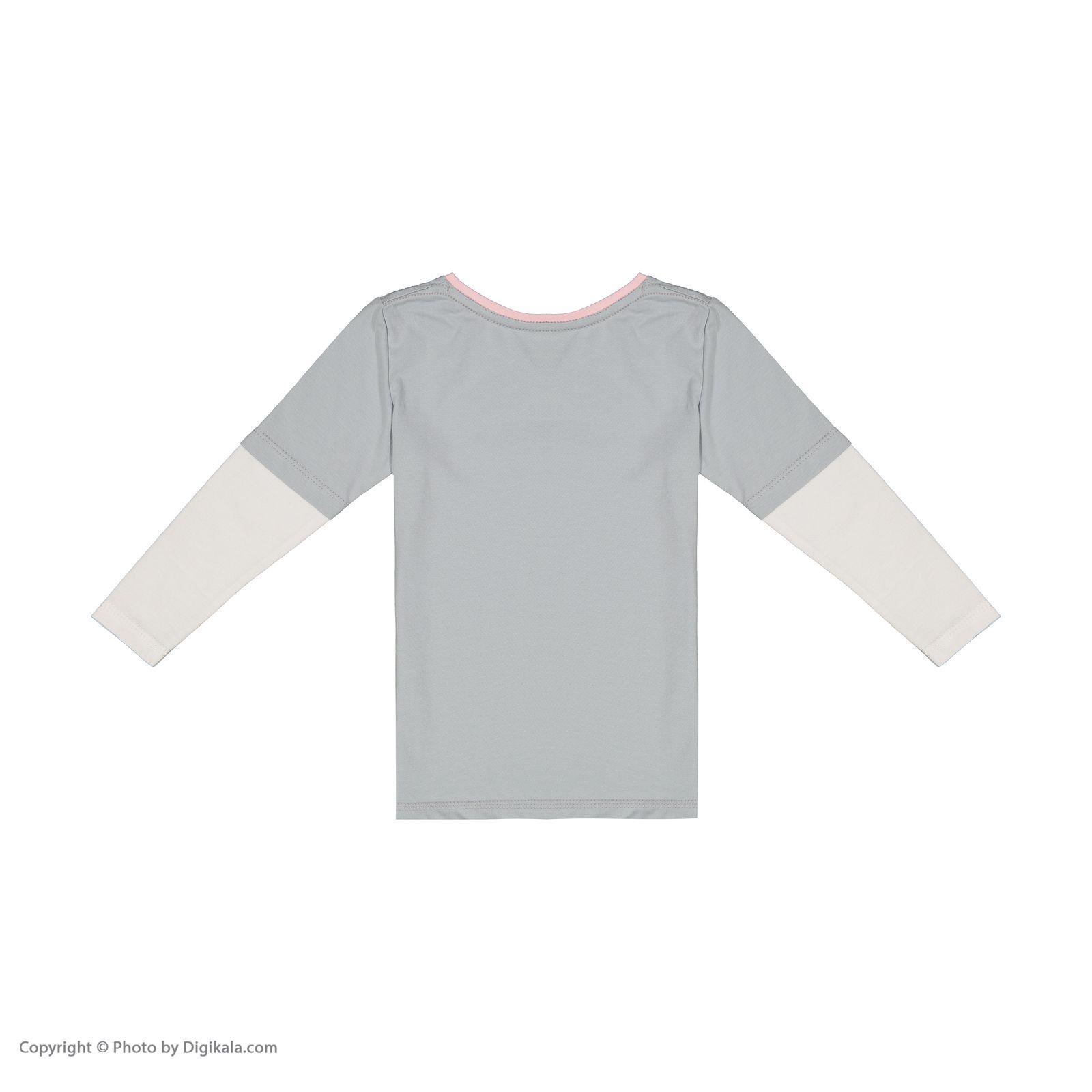 ست تی شرت و شلوار دخترانه ناربن مدل 1521328-93 -  - 8
