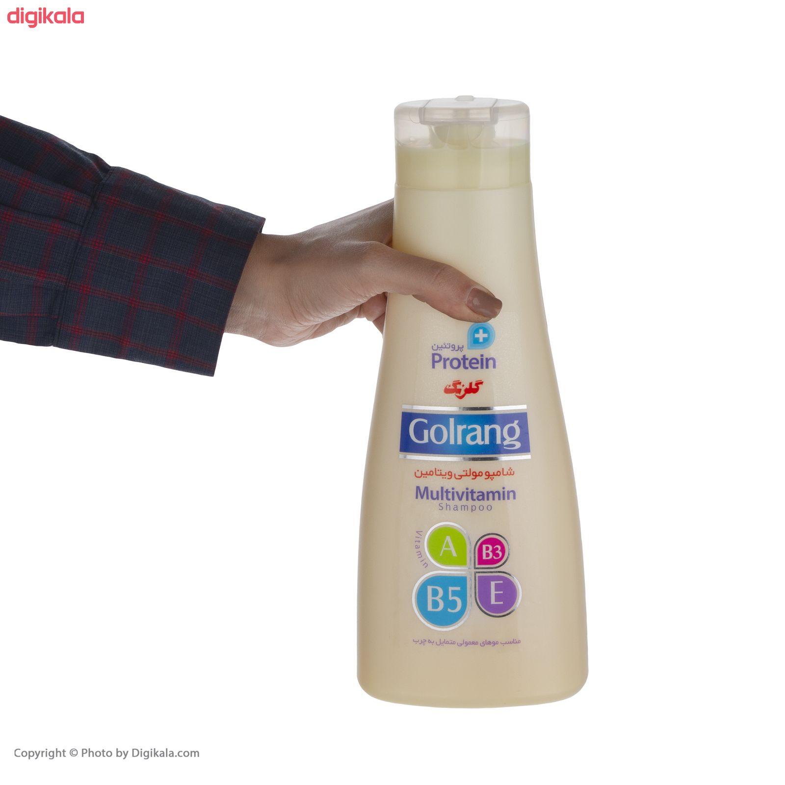 شامپو موی گلرنگ سری Plus Protein مدل Oily Hair مقدار 900 گرم main 1 2