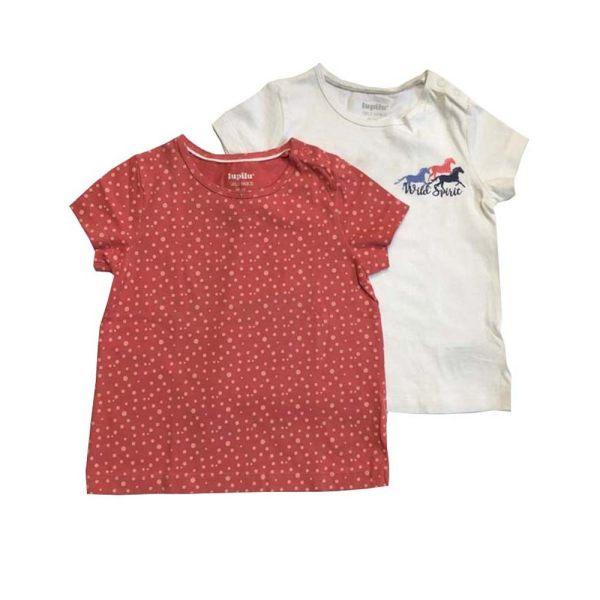 تی شرت دخترانه لوپیلو مدل t1مجموعه دو عددی