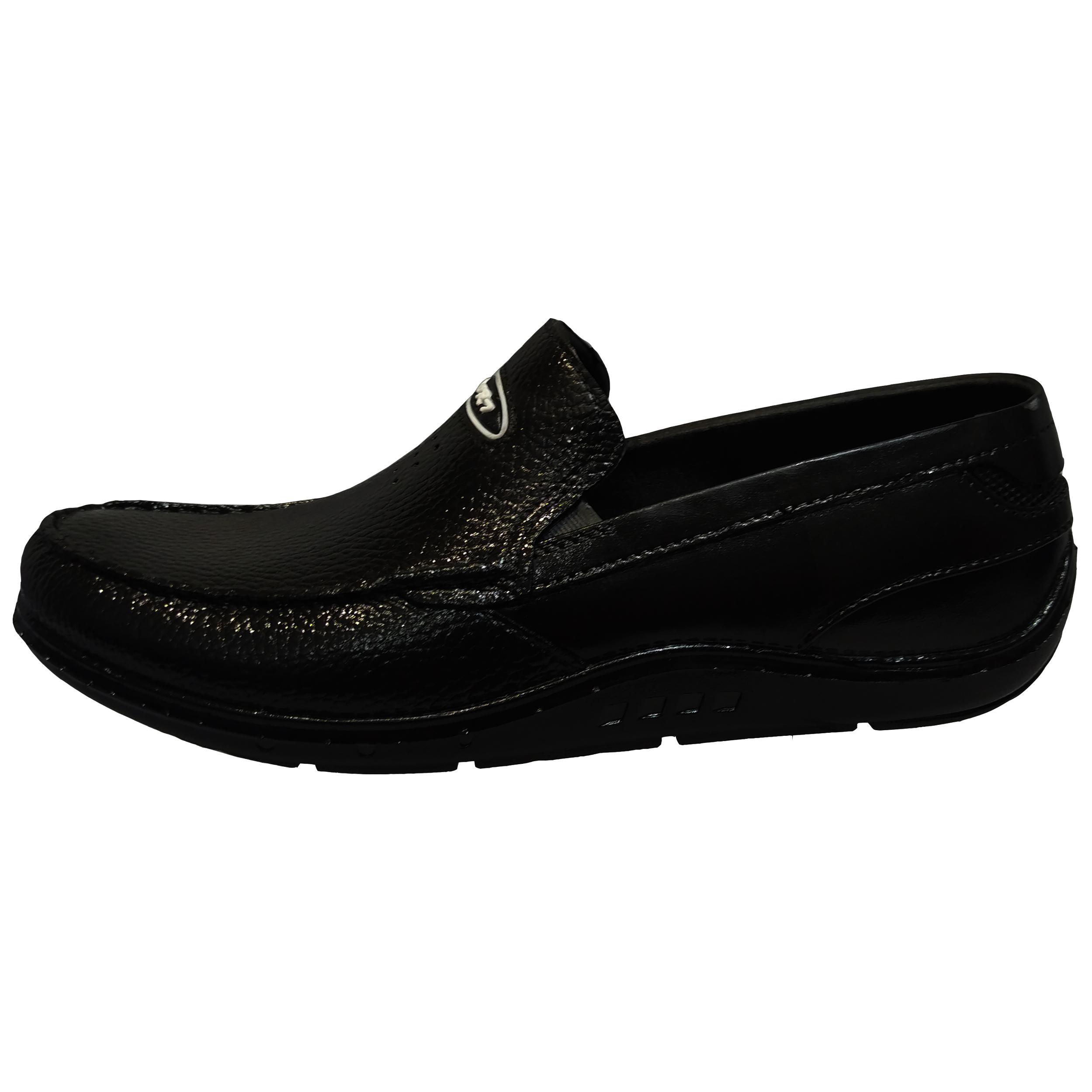 کفش روزمره مردانه مدل سامان رنگ مشکی
