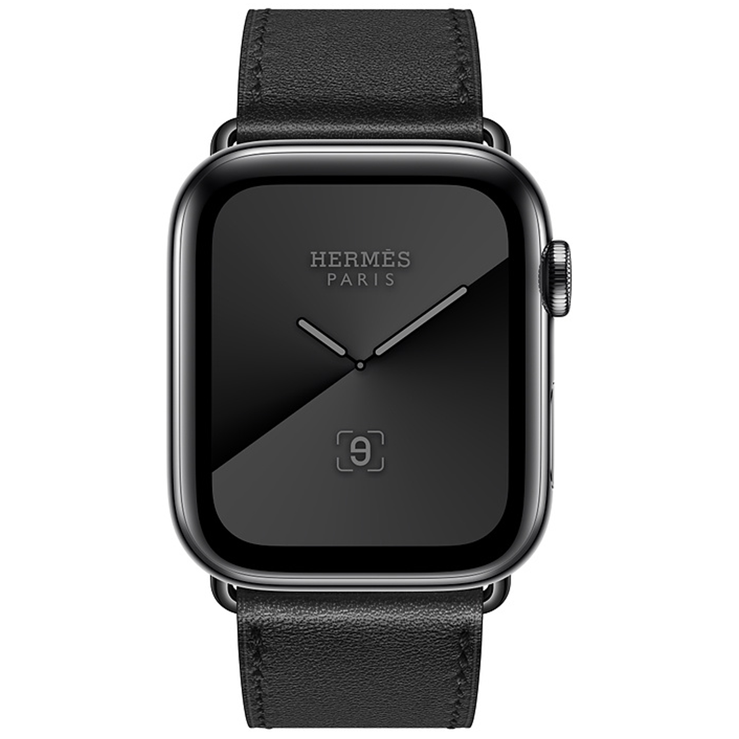 ساعت هوشمند اپل سری ۵ مدل Hermès Space Stainless Steel Case with Single Tour 44mm