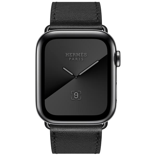 ساعت هوشمند اپل سری 5 مدل Hermès Space Stainless Steel Case with Single Tour 44mm