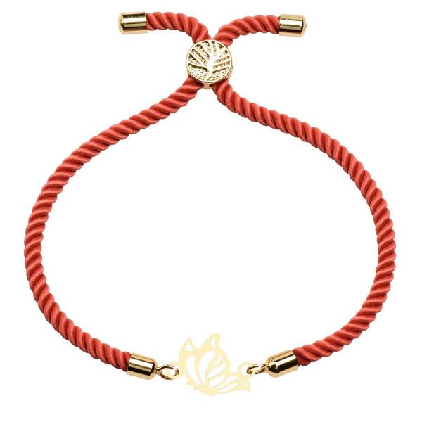 دستبند زنانه کرابو طرح پروانه مدل kb-26-51