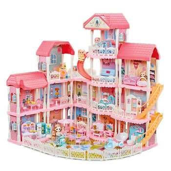ست اسباب بازی لوازم خانه مدل castle villa -dream