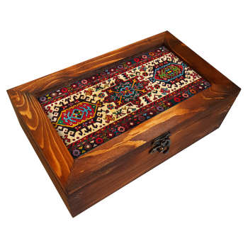 جعبه هدیه چوبی مدل        BG98