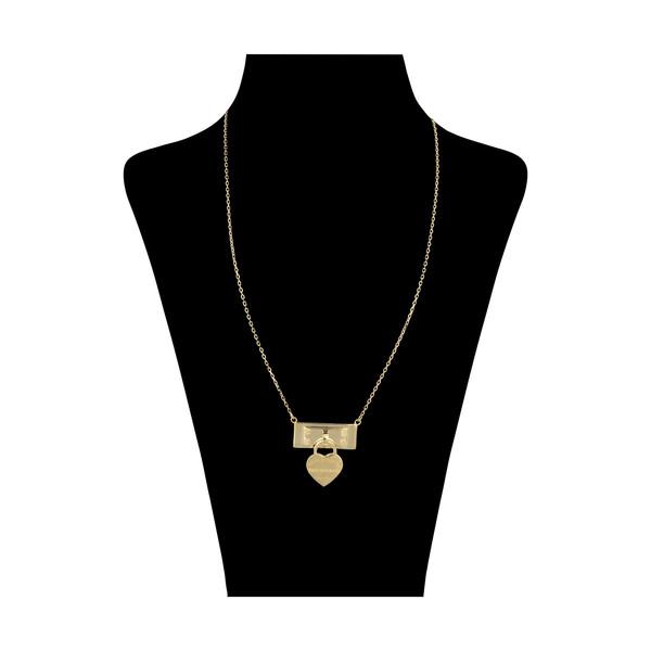 گردنبند طلا 18 عیار زنانه مایا ماهک مدل MM1286