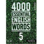 کتاب 4000ESSENTIAL ENGLISH WORDS 5 اثر Paul Nation انتشارات Compass