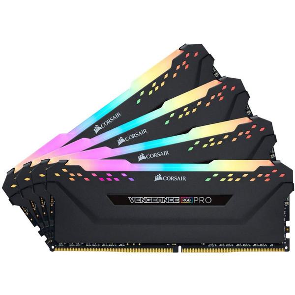 رم دسکتاپ DDR4 چهار کاناله 3600 مگاهرتز CL18 کورسیر ظرفیت 64 گیگابایت