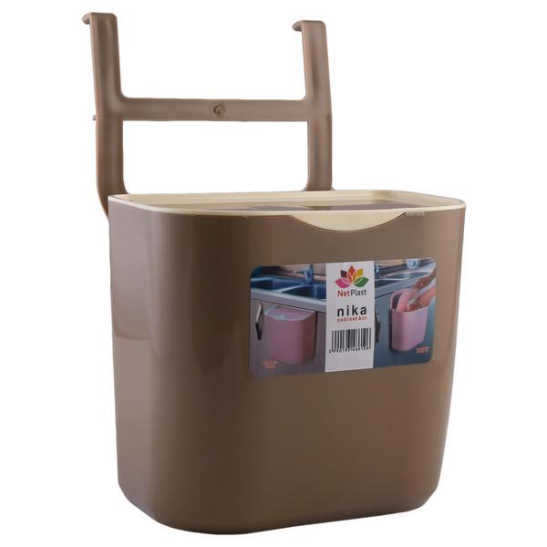 سطل زباله کابینتی نت پلاست مدل نیکا کد 183