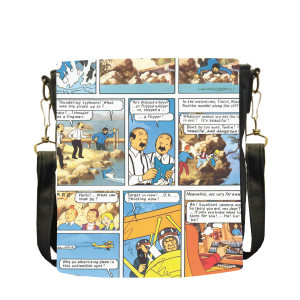 کیف دوشی بچگانه طرح تن تن کد B25