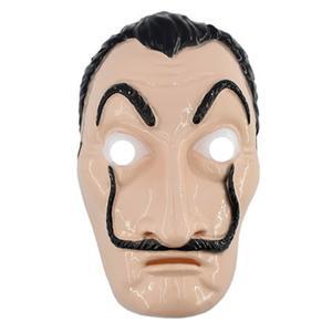 ماسک ایفای نقش مدل سالوادور دالی