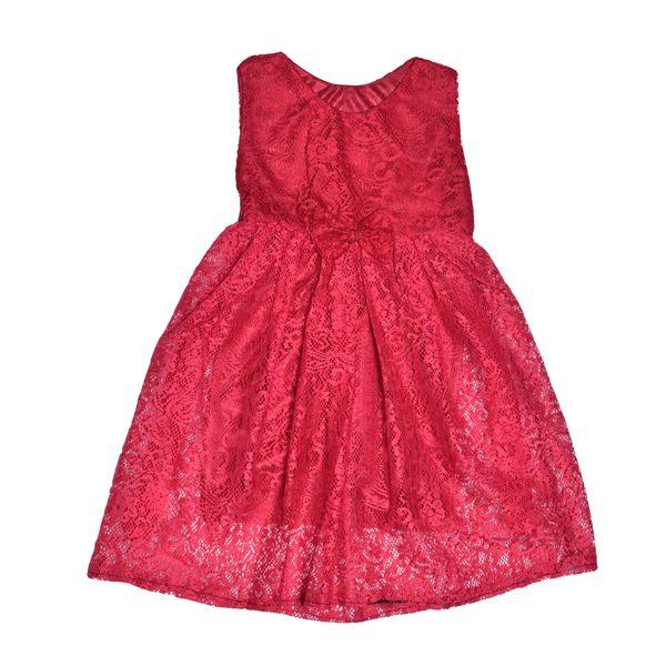پیراهن دخترانه مدل پاپیون 3 کد 67