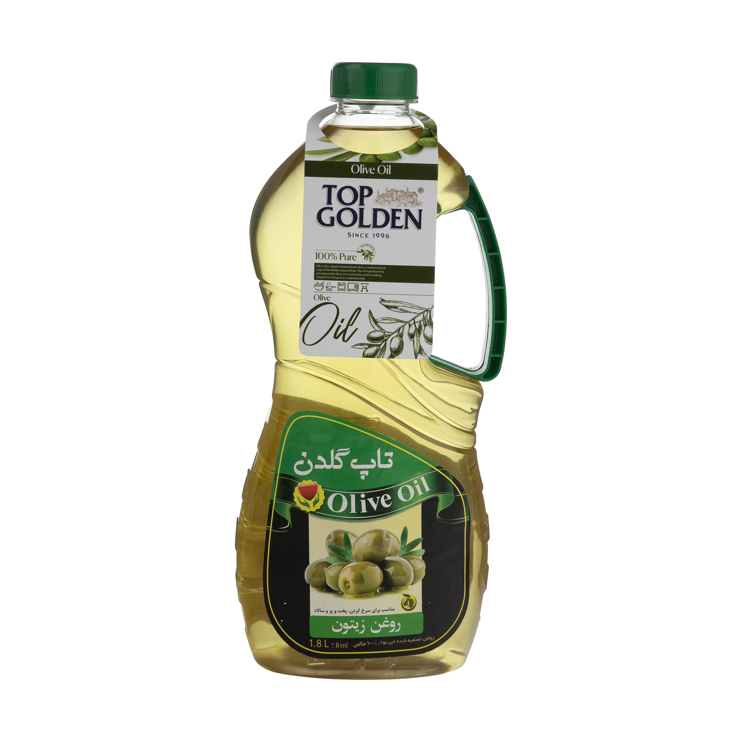 روغن زیتون تاپ گلدن – .1.8 لیتر