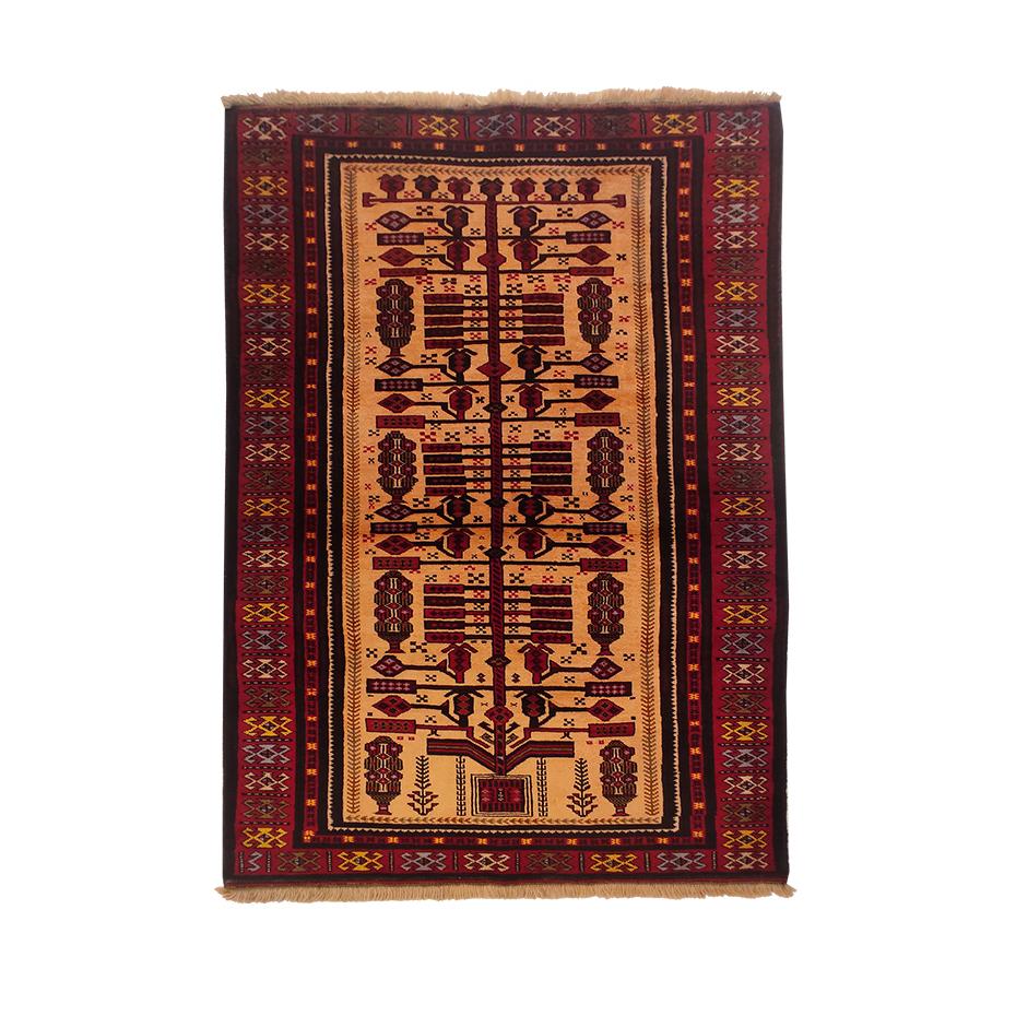 فرش دستباف دو متری مدل بلوچی کد 6002