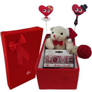 ست هدیه عروسک طرح خرس مدل Hsvs998