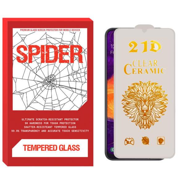 محافظ صفحه نمایش سرامیکی اسپایدر مدل CER-CL مناسب برای گوشی موبایل سامسونگ Galaxy A31