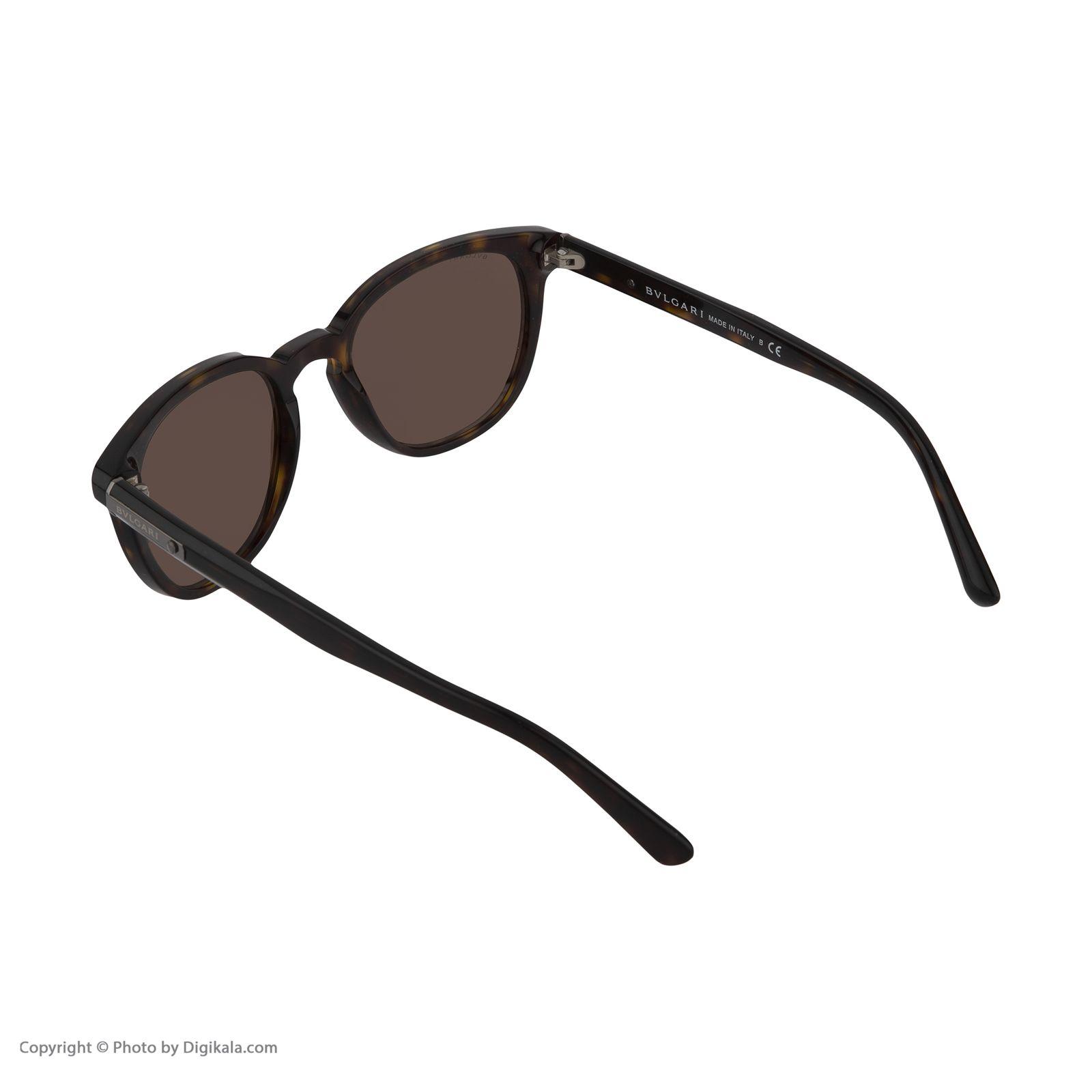 عینک آفتابی بولگاری مدل BV7019S 50473 -  - 5