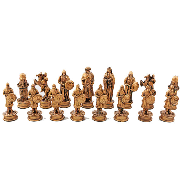 مهره شطرنج کد MSA1A مجموعه 32 عددی