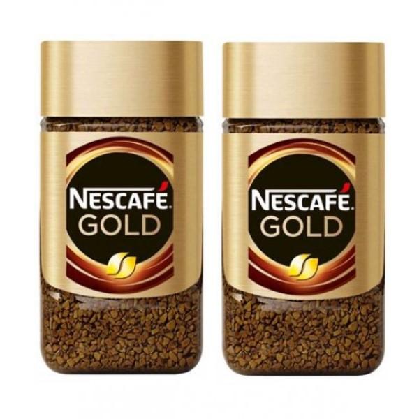قهوه فوری گلد نسکافه - 50 گرم بسته ۲ عددی