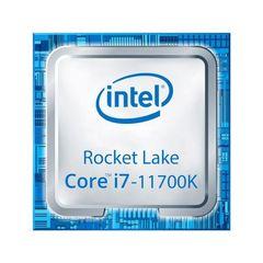 پردازنده مرکزی اینتل سری Rocket Lake مدل Core i7-11700K