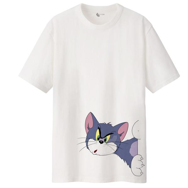 تی شرت آستین کوتاه زنانه مدل تام و جری