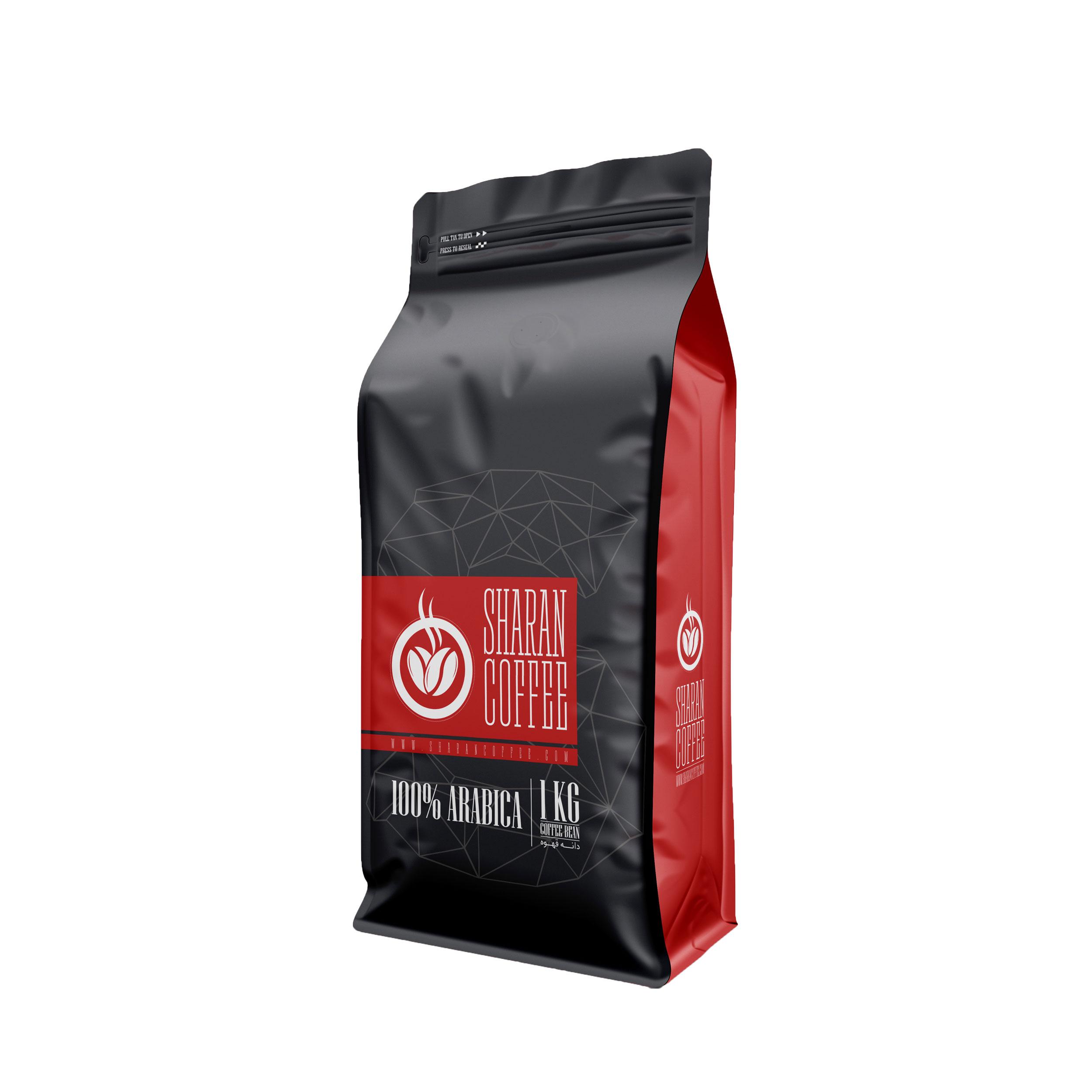 دانه قهوه تانزانیا عربیکا شاران - 1 کیلوگرم