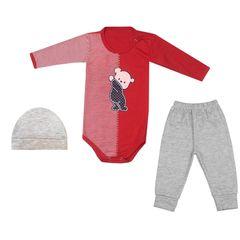 ست 3 تکه لباس نوزادی کد 36