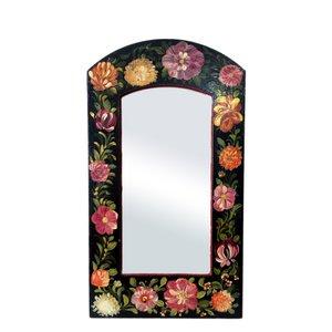 آینه مدل گل و مرغ کد 002