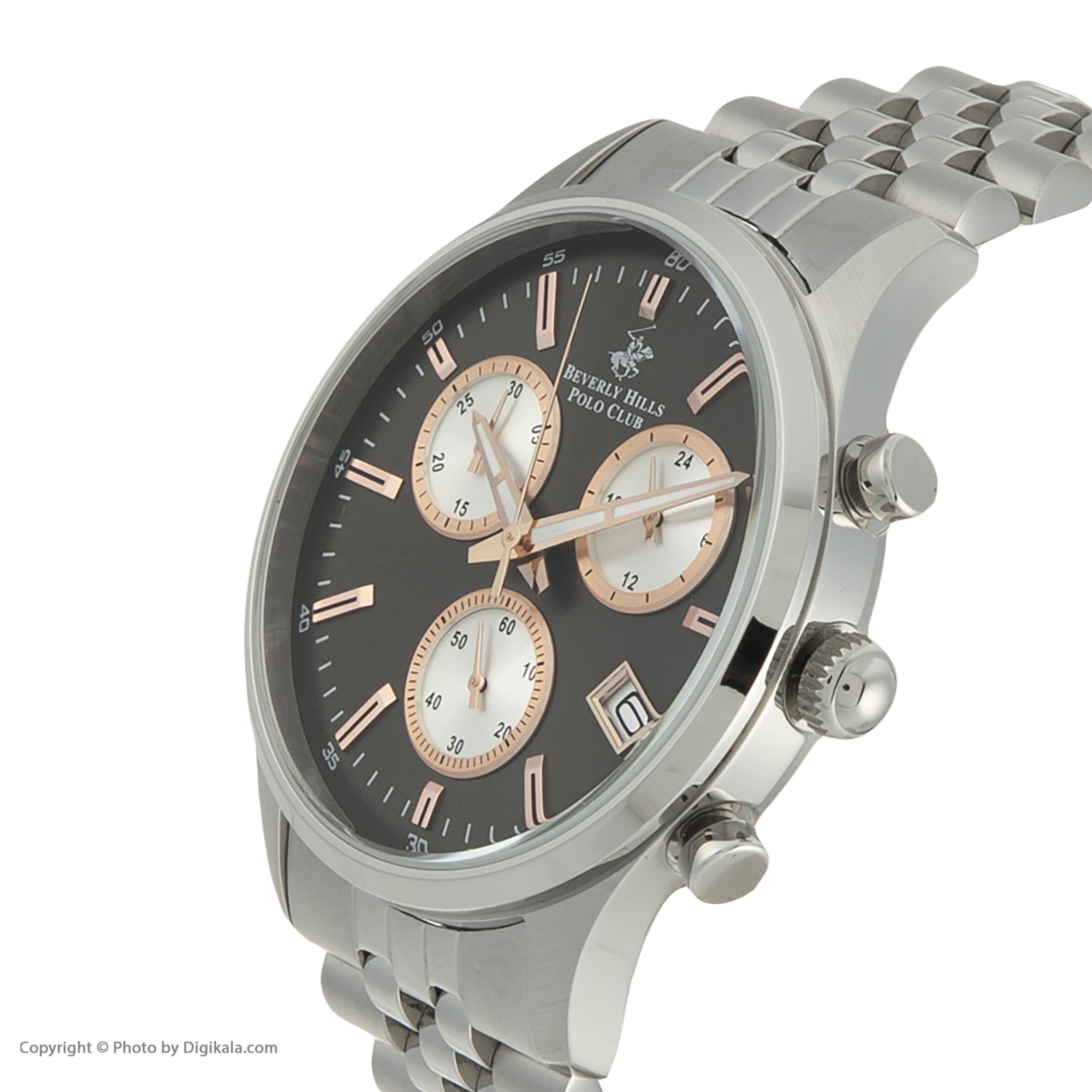ساعت مچی عقربهای مردانه بورلی هیلز پولو کلاب مدل BP3000X.360