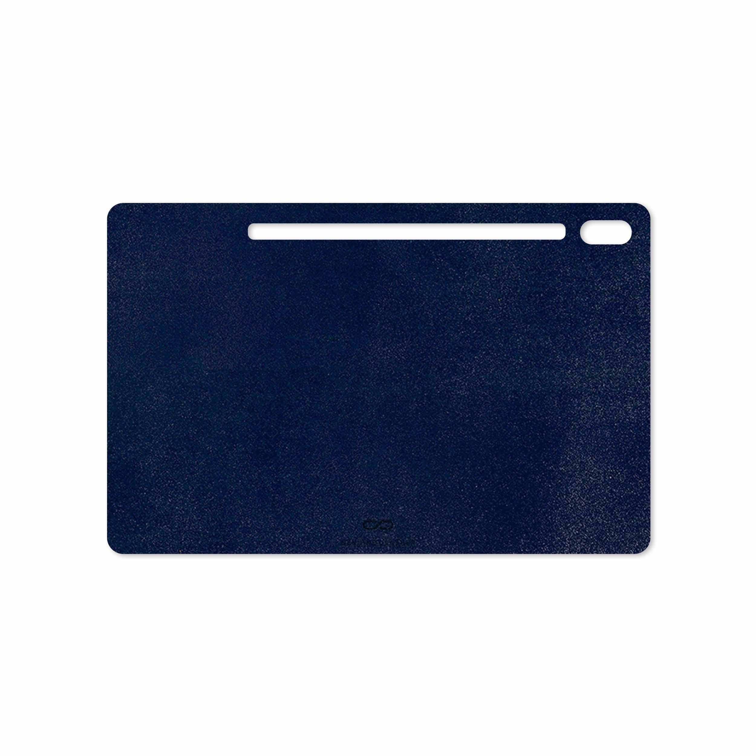بررسی و خرید [با تخفیف]                                     برچسب پوششی ماهوت مدل Deep-Blue-Leather مناسب برای تبلت سامسونگ Galaxy Tab S6 2019 SM-T860                             اورجینال