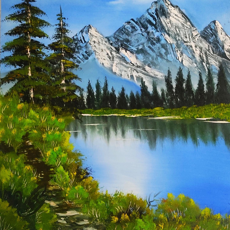 تابلو نقاشی رنگ روغن طرح منظره کد ۲۰