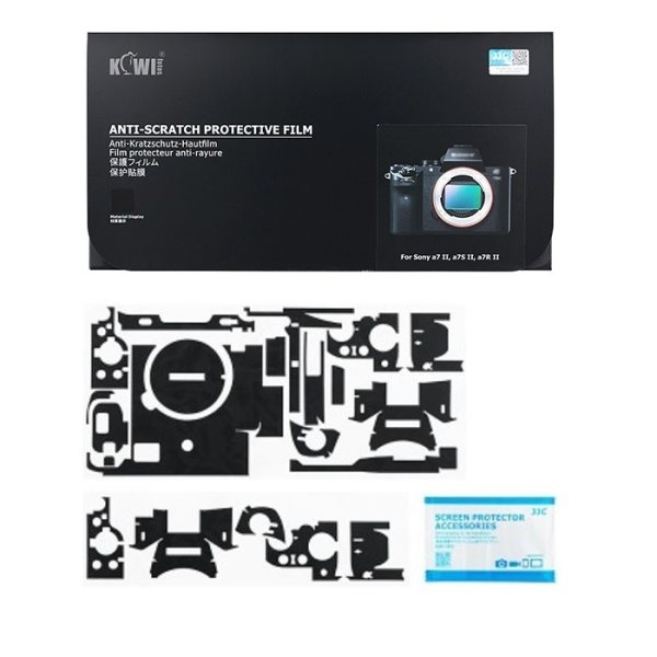 برچسب پوششی کی وی مدل KS-A7M2MK مناسب برای دوربین عکاسی سونی a7II / a7SII / a7RII