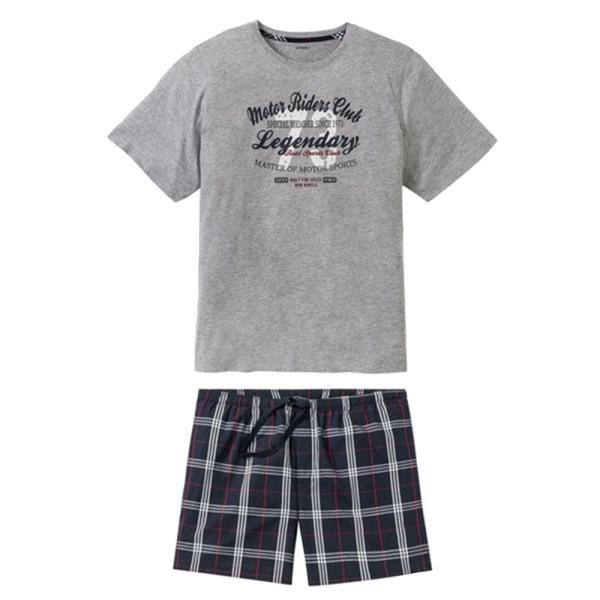 ست تی شرت و شلوارک مردانه لیورجی مدل 4493851