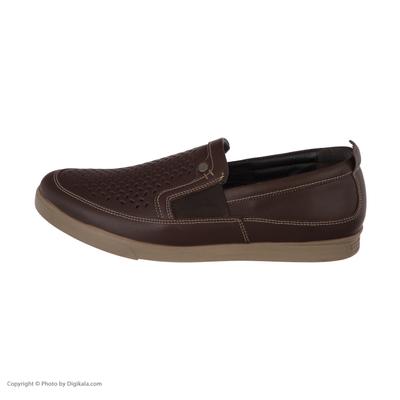 کفش روزمره مردانه ملی مدل مرند کد 14199839 رنگ قهوه ای