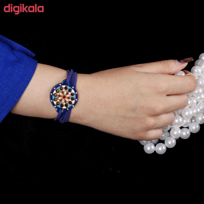 دستبند زنانه طرح دریم کچر کد 3004 main 1 2