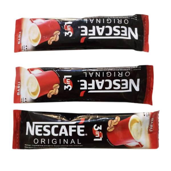 قهوه فوری مخلوط نسکافه بسته ۳ عددی