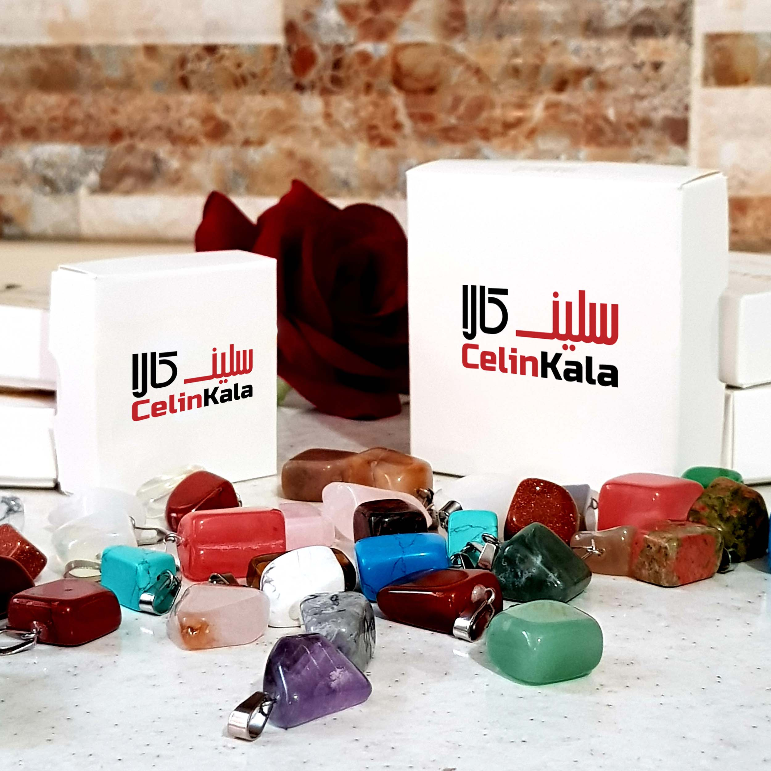 سنگ عقیق شجر سلین کالا مدل ce-110