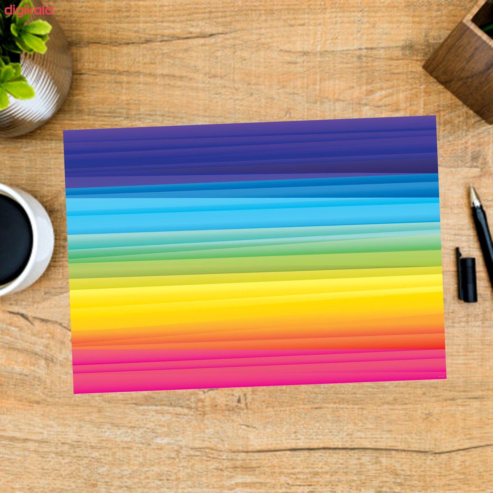 کاغذ رنگی A4 مستر راد مدل رنگارنگ بسته 10 عددی main 1 8
