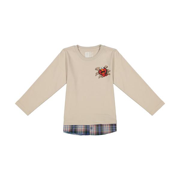 تی شرت آستین بلند پسرانه سون پون مدل 1391166-05